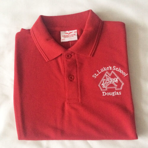 st lukes polo shirt