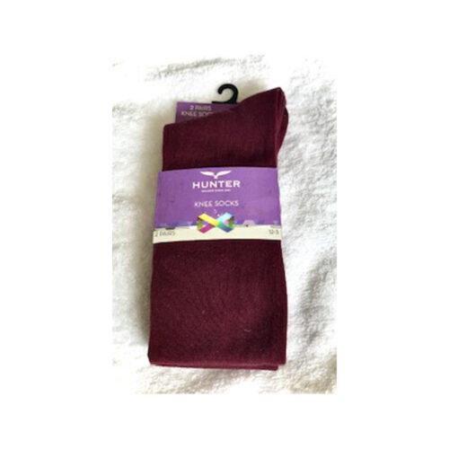 olol wine knee socks