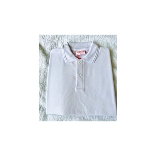 rockboro plain white polo