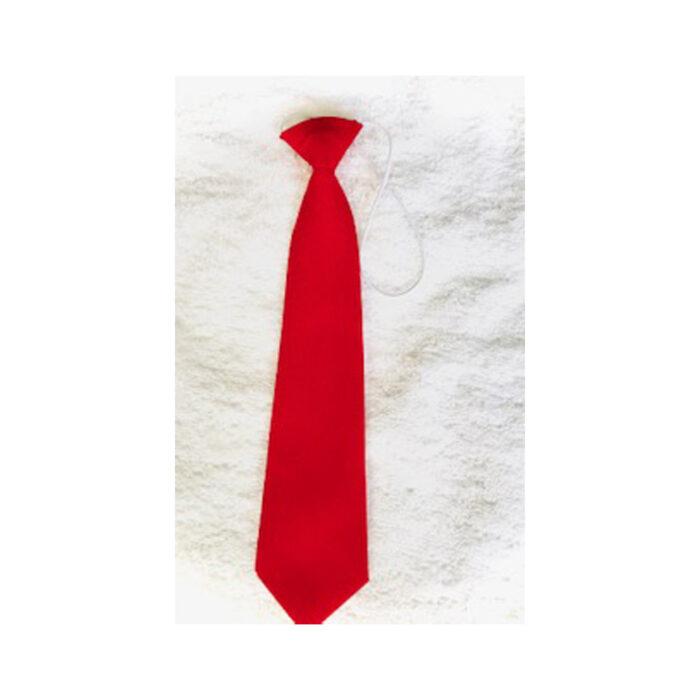 rockboro red elastic tie